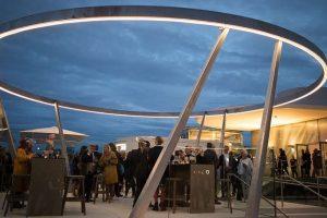 Die MQ Libelle ist gelandet. Die schönste Kulturterrasse Wiens wurde am 4. September ...