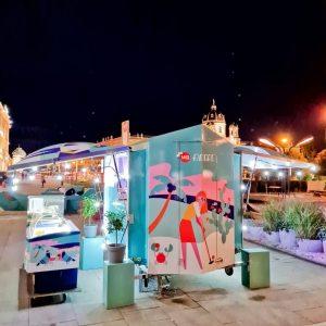 CHIOSCO AMORE ❤❤❤ #amore #kiosk #nacht #mqamore #icecream #minigolfplatz #skulpturenpark #mqwien #mq #museumsquartier #1070 #wien #vienna MQ...