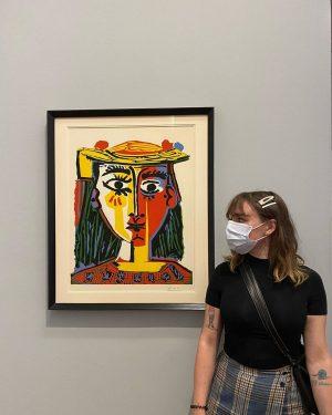 I painted this myslef 😌 Albertina Museum