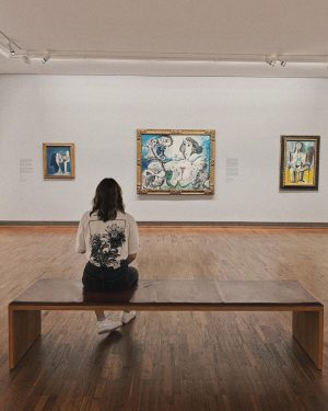 art is healing. Albertina Museum