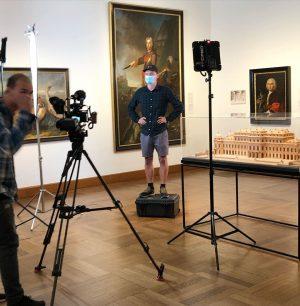 movie set #belvedere #belvederemuseum #history #tvdocumentary #orf Belvedere Museum