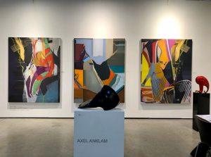 Viennacontemporary 2020 #izvorpende #axelanklamsculpture #viennacontemporary2020 #artfair #artfairs #vienna