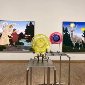 The exhibition THE BEGINNING shows art in Austria from 1945 to 1980 and is still open until...