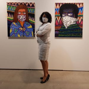 #artist stefanie #gutheil #mask #identity #care www.russiklenner.de Vienna Contemporary