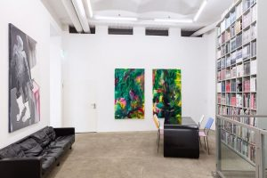 Currently on view in our KITCHEN in Vienna: Sarah Bechter, Herbert Brandl, Michael ...
