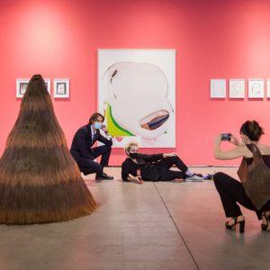 Today's schedule at #viennacontemporary2020 Performance I Vasilena Gankovska live painting at Galerie Ernst HilgerGalerie Ernst Hilger 24...