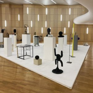 PARALLEL SKULPTURENINSEL curated by Stefan Bidner ROOM 0.17 Julia Bornefeld @juliabornefeld Tjorg Douglas ...