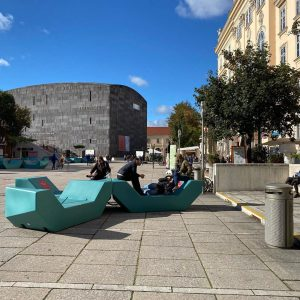 cool but sunny ☀️ MQ – MuseumsQuartier Wien