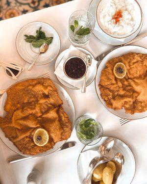 There can never be too much #Schnitzel! Right? 🤔 #Schnitzel #vienna #wien #schnitzellove Meissl & Schadn -...