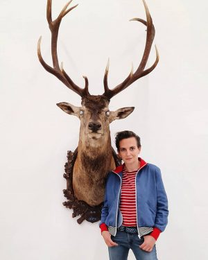 Today: Revealing of Deborah Sengl's new sculpture