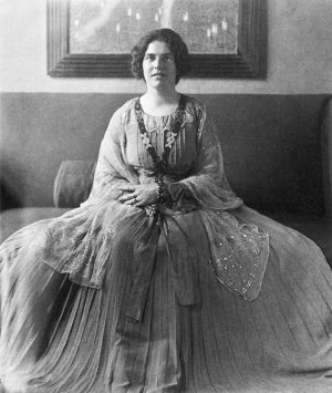 Who's is this? May we introduce: Elena Luksch-Makowsky. Born in tsarist Russia in 1878 as the daughter...