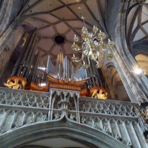 #wien #stephansdom #orgel #fantastic #beautiful #lights #interesting #nice #incredible #imagine #echo #architektur Stephansdom, Vienna