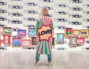 Andy Warhol Exhibits in MUMOK #andywarhol #glitteringalternative #mumok #popart #popartcoat #vienna mumok - ...