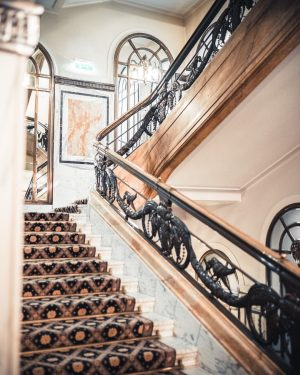 In the @bristolvienna taking the stairs is truly an experience ✨ Hotel Bristol, a Luxury Collection Hotel,...