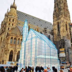 Did you knew that the world famous Stephansdom was no the only religeous building at Stephansplatz? or...