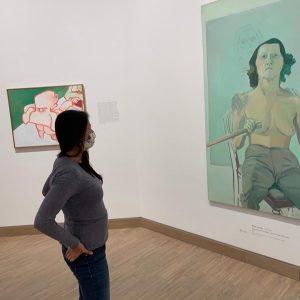 Sonntag Vormittag. Wien - Stadt der Kunst und Kultur. Eine sehr empfehlenswerte Ausstellung in der ALBERTINA MODERN...