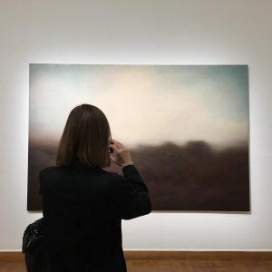 #gerhardrichter #landschaft #kunstforumwien