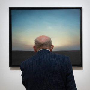 Abendstimmung #GerhardRichter // #Landschaft #Malerei #romantischebilder #1969 Kunstforum