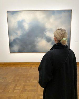 still on cloud nine #gerhardrichter Bank Austria Kunstforum Wien