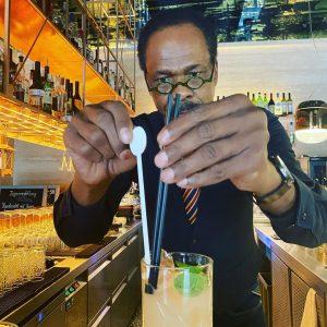 """Keitas """"Ginger Drink"""" - eine Legende 🤩 #dastriest #bistroporto #cocktails #barvienna #barwien #freihausviertel #cocktaillovers #enjoyvienna #wienliebe #designlovers..."""