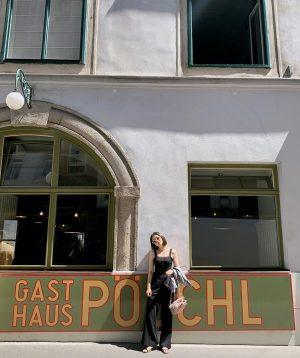 코로나때문에 아무것도 못😖 Gasthaus Pöschl früher Immervoll