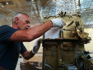 """✒ Die """"allessschreibende Wundermaschine"""" des kaiserlichen Hofmechanikers Friedrich von Knaus ist eines der ..."""
