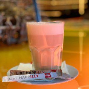 Selon le slogan du Méridien WIEN «Say you to me» merveilleux café latte ...