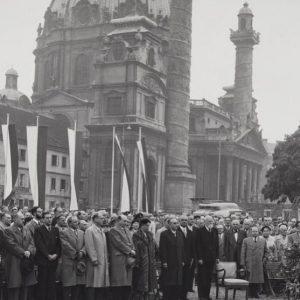 Heute vor 66 Jahren: Grundsteinlegung zum Historischen Museum der Stadt Wien (Wien Museum). ...