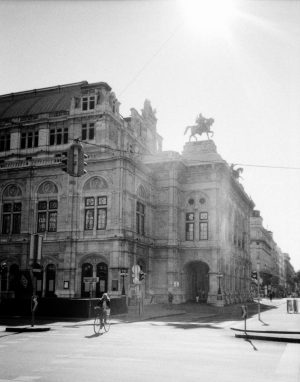 analog am radl. Wiener Staatsoper