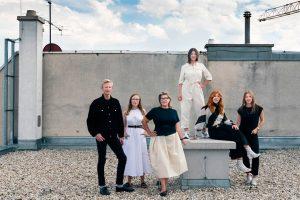 Das Team der VIENNA DESIGN WEEK 2020! ❤️ (von links nach rechts) Gabriel ...