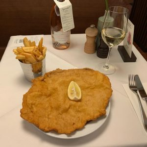 #schnitzel at #figlmüller in #vienna #austria. Figlmüller (official)