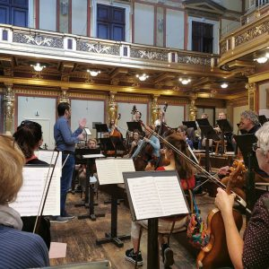 Finally here again! 😍 #greatjoy! #concentusfamily #rehearsal #musikverein #musikvereinwien #imverein #takeover #concentusmusicus #photooftheday ...