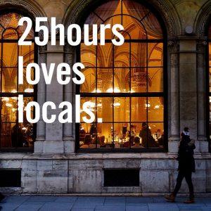 25hours ❤️ locals! Tauche in unsere Zirkus Welt und genieße Urlaub in deiner Stadt. #viennalovers #viennaloveslocals ab...
