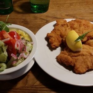 Who doesn't love 😍😍😍😍😍 Wiener schnitzel, sometimes spelled Wienerschnitzel, as in Switzerland, is ...