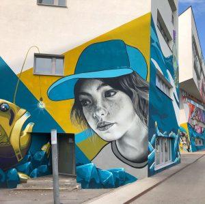 Idee gefischt? @__twooo__ #viennastreetart #viennamurals #muralart #viennagraffiti #kulturblog #kulturblogger #kunstblogger #viennablogger #igvienna #welovevienna #wallsofvienna #puplicart #wallpainting #fish...
