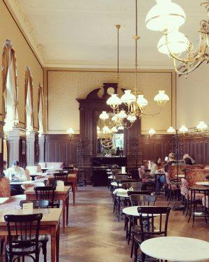 café sperl. . #kaffeehaus #wien #cafesperl #igersvienna #gdmc #architecture #history #austria Café Sperl