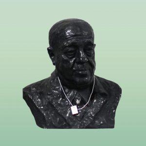 """Unsere Büstensammlung wird gerade digitalisiert und wir nehmen das zum Anlass euch heute, am """"Glücklich-trotz-Glatze-Tag"""", die Bronzebüste..."""