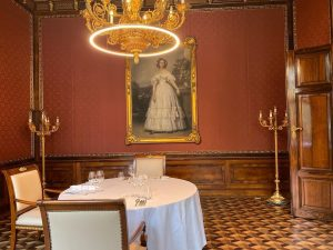 Everything is ready for tonights private dinner in our princess room #palaiscoburg #privatedinner Palais Coburg Residenz *****