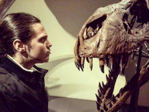 Face to face... #Vienna #NaturalHistoryMuseum #TRex #JurassicPark #Dinosaur #Superquark #Documentary #DavidAttenborough #Memories #CICAP ...