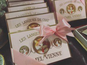 かわいいお菓子いっぱいあった🐈 #demel Demel