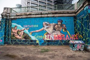 Very First Dealer _________________ #StreetRenaissance #donaukanal #subtwo232 #viennamurals #streetart #graffiti #painting #art #kunst ...