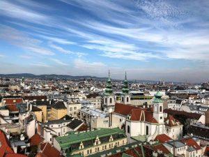 Vienna • Rooftop view • Haus des Meeres (October 2020) —————— #vienna #wien ...