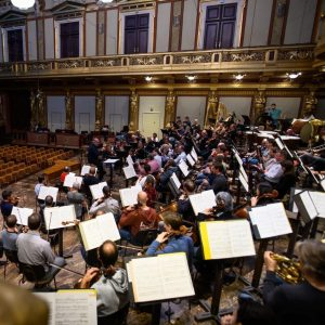 🎶 Vorfreude auf heute Abend! 😍 Heute Abend dirigiert Maestro Valery Gergiev die Wiener Philharmoniker. 📸 #Repost...