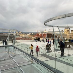 Libelle at MQ, on top of Leopold Museum Vienna MQ – MuseumsQuartier Wien