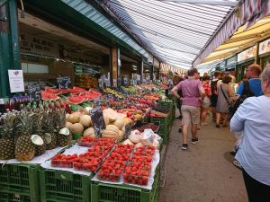 Naschmarkt-- existing since XVI century, currently spans 1,5 kilometres and one of the most visited markets in...