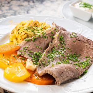 Ein echter Klassiker 😋 Der Tafelspitz ist nicht aus der klassischen Wiener Küche wegzudenken. Darum darf er...