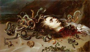 🐍Medusa by Peter Paul Rubens, 1618🐍 . . . #medusa #peterpaulrubens #artpost #paintingclassics #halloween Kunsthistorisches Museum Vienna