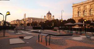 MQ AMORE ❤ Mitten in der Stadt - am Vorplatz vom Museumsquartier: eine ...