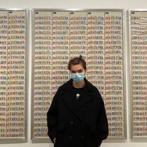 Habt ihr schon meine Briefmarkensammlung gesehen?🌚 - another one: @ughcarsey mumok - Museum moderner Kunst Wien