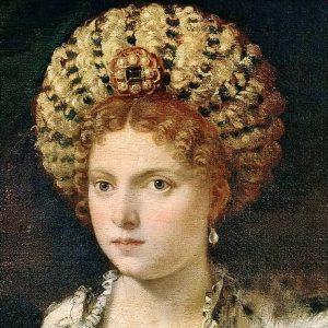 Tiziano Vecellio, Ritratto di Isabella d'Este (1534-1536) Kunsthistorisches Museum Vienna